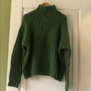 Aerie Mock Turtleneck Sweater